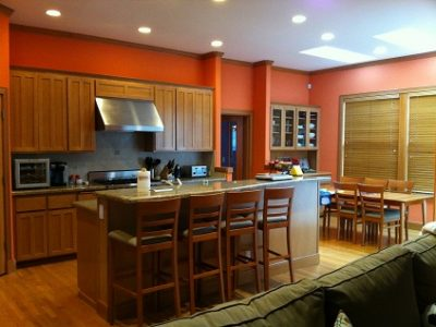 Interior painting by CertaPro house painters in Redmond, WA