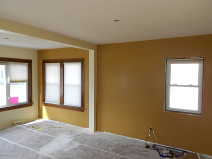 Interior house painting by CertaPro painters in East Central Wisconsin