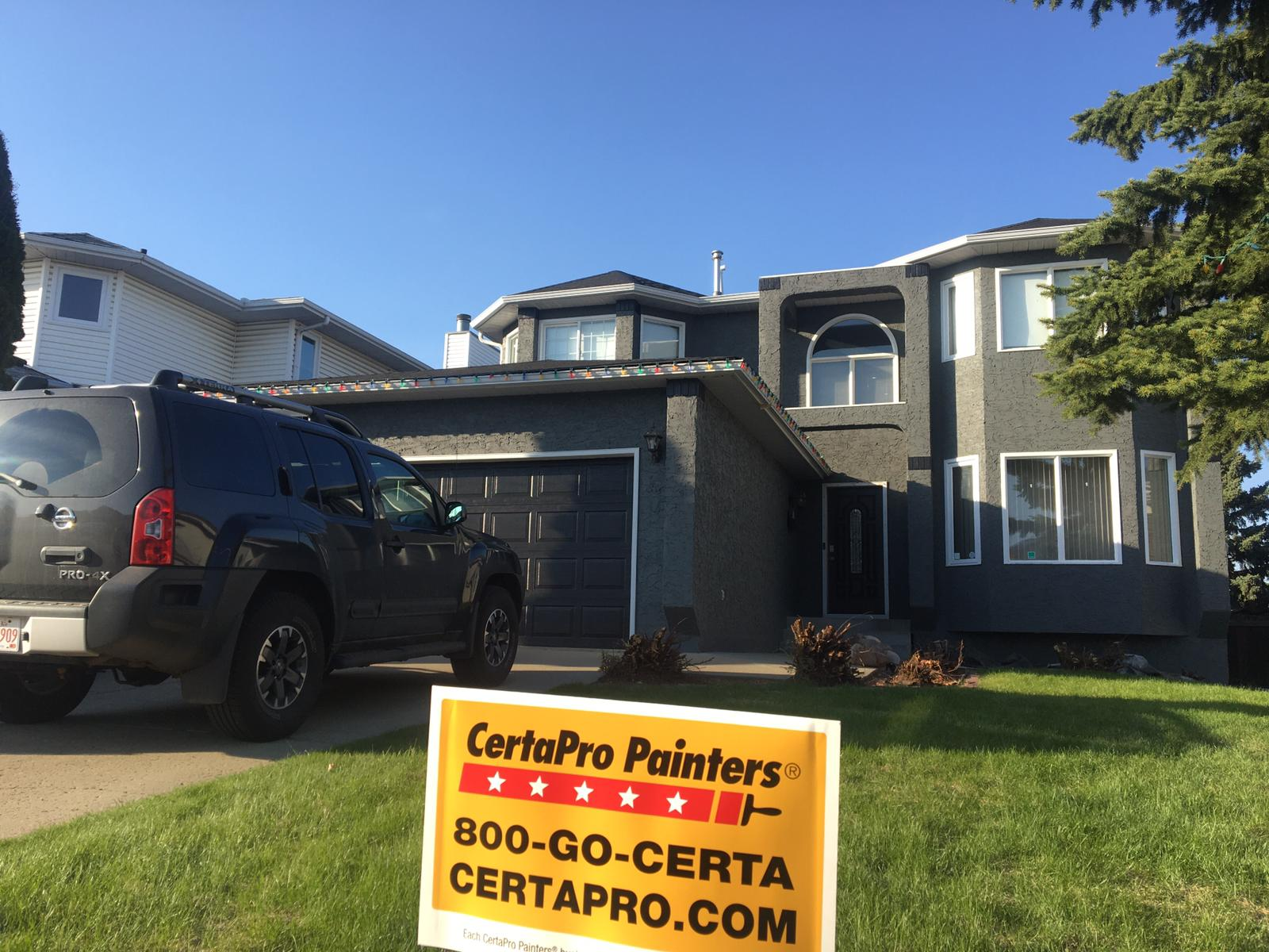 Professional Exterior Residential Painting Service Company Edmonton, AB, CA