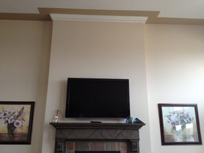 Interior house painting by CertaPro painters in Edmonton, AB