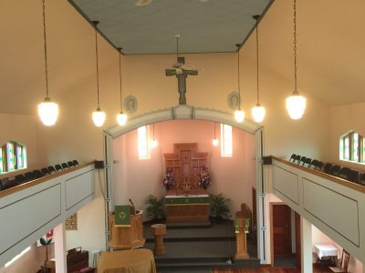 Commercial Faith-based Facility painting by CertaPro painters in Leduc