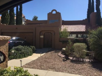 Exterior house painting by CertaPro painters in El Paso, TX