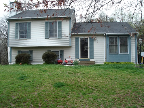 Exterior painting by CertaPro house painters in Catonsville