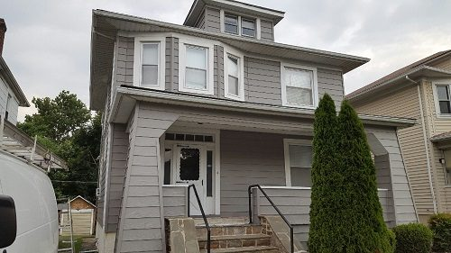 Exterior house painting by CertaPro painters in Catonsville
