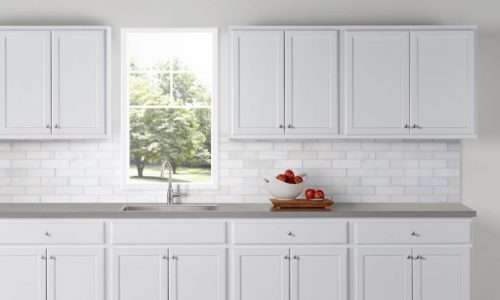professional cabinet painting services in the kingsway