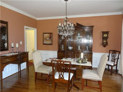 Interior house painting by CertaPro painters in Fairfax, VA