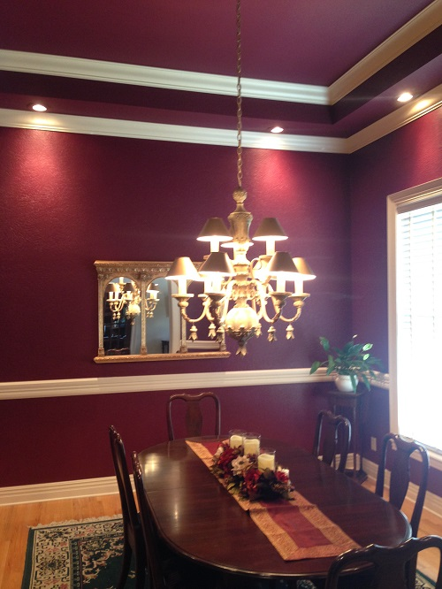 Interior painting by CertaPro house painters in Fayetteville, AR