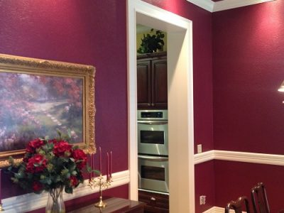 Interior house painting by CertaPro painters in Springdale, AR