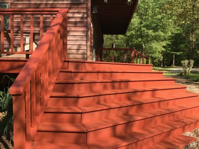 Deck Staining in Fayetteville, AR - CertaPro Painters