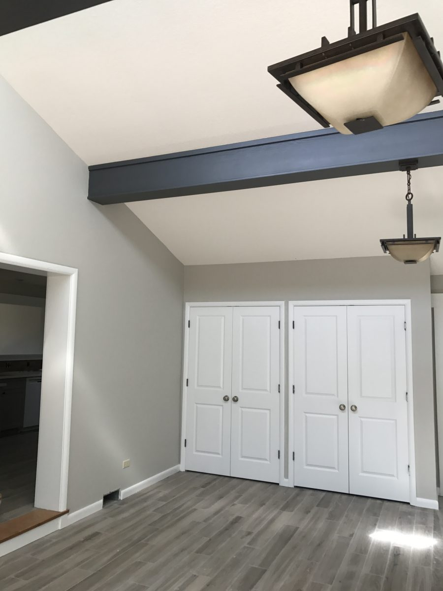 Interior house painting by CertaPro painters in Fayetteville, AR
