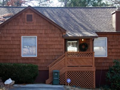 Exterior house painting by CertaPro painters in Fayetteville, AR
