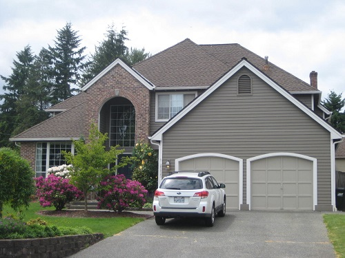 Exterior house painting by CertaPro painters in Federal Way, WA