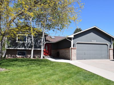 Exterior house painting by CertaPro painters in Fort Collins, CO