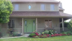 Exterior house painting by CertaPro painters in Bluffton, IN