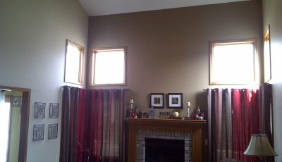 Interior house painting by CertaPro painters in Fort Wayne, IN