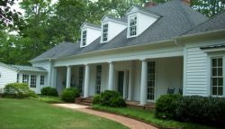 Exterior house painting by CertaPro painters in Collerville, TN