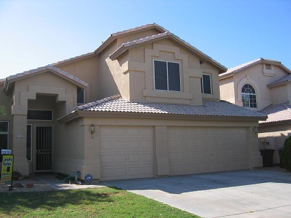 Exterior painting by CertaPro house painters in Avondale, AZ
