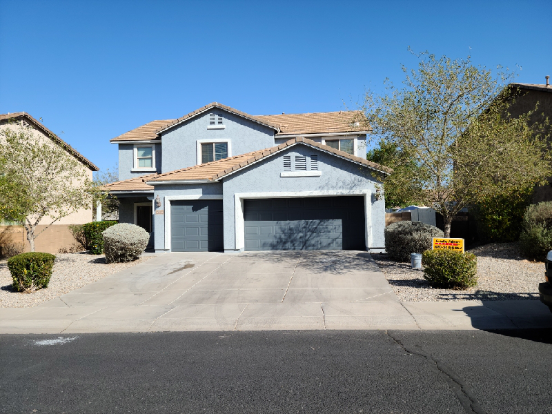 A home in Buckeye, Arizona after exterior painting by CertaPro.