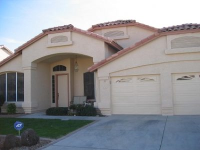 Exterior house painting by CertaPro painters in Goodyear, AZ