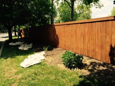allentown fence painting