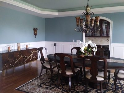 West Chester, PA interior dining room