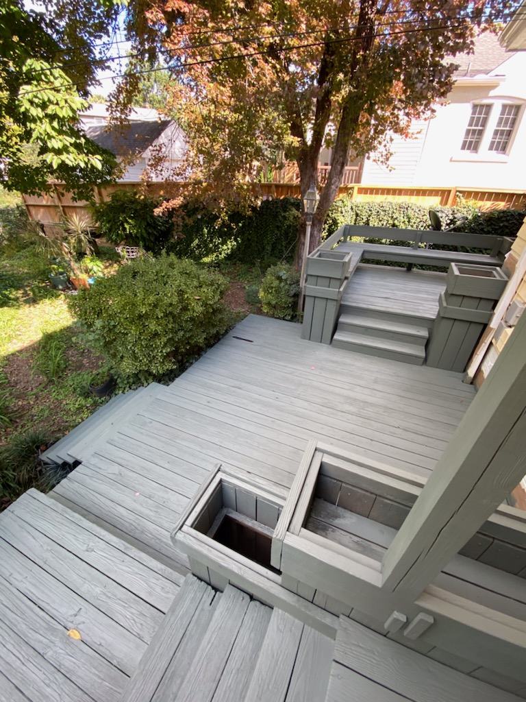Residential Deck Painting After