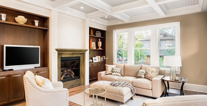 Interior painting by CertaPro house painters in Gresham, OR