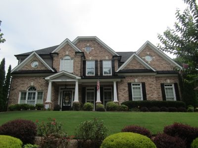 recently painted home in loganville georgia
