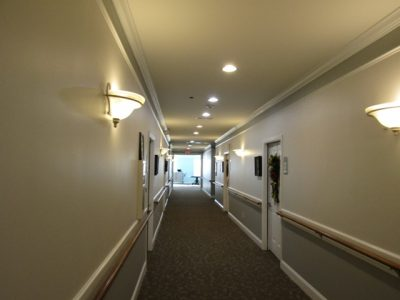 picture of a senior living community in cumming that was repainted by certapro painters of gwinnett