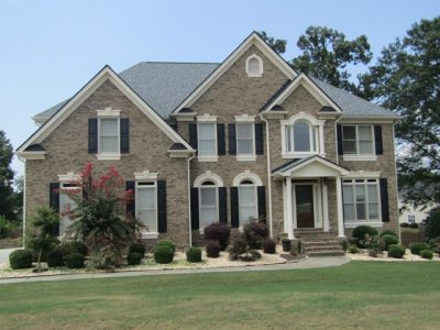certapro painters of gwinnett - repainted brick home in grayson