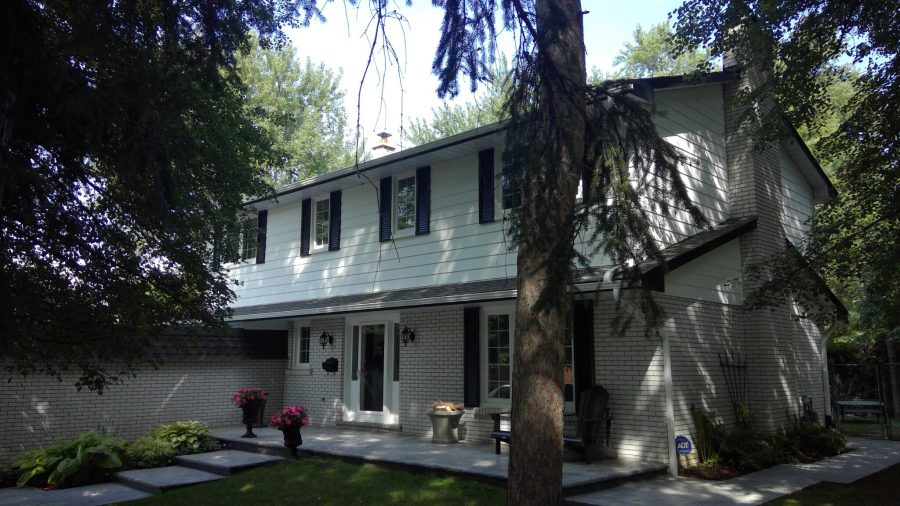 Exterior painting by CertaPro house House Painters in Hamilton, ON