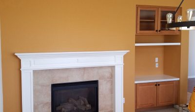 Interior living room painting by CertaPro Painters in Centennial, CO