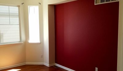 Interior accent wall painting by CertaPro Painters in Littleton, CO