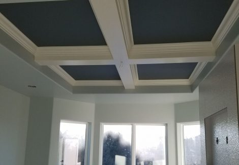 Interior ceiling and house painting by CertaPro Painters in Highlands Ranch, CO