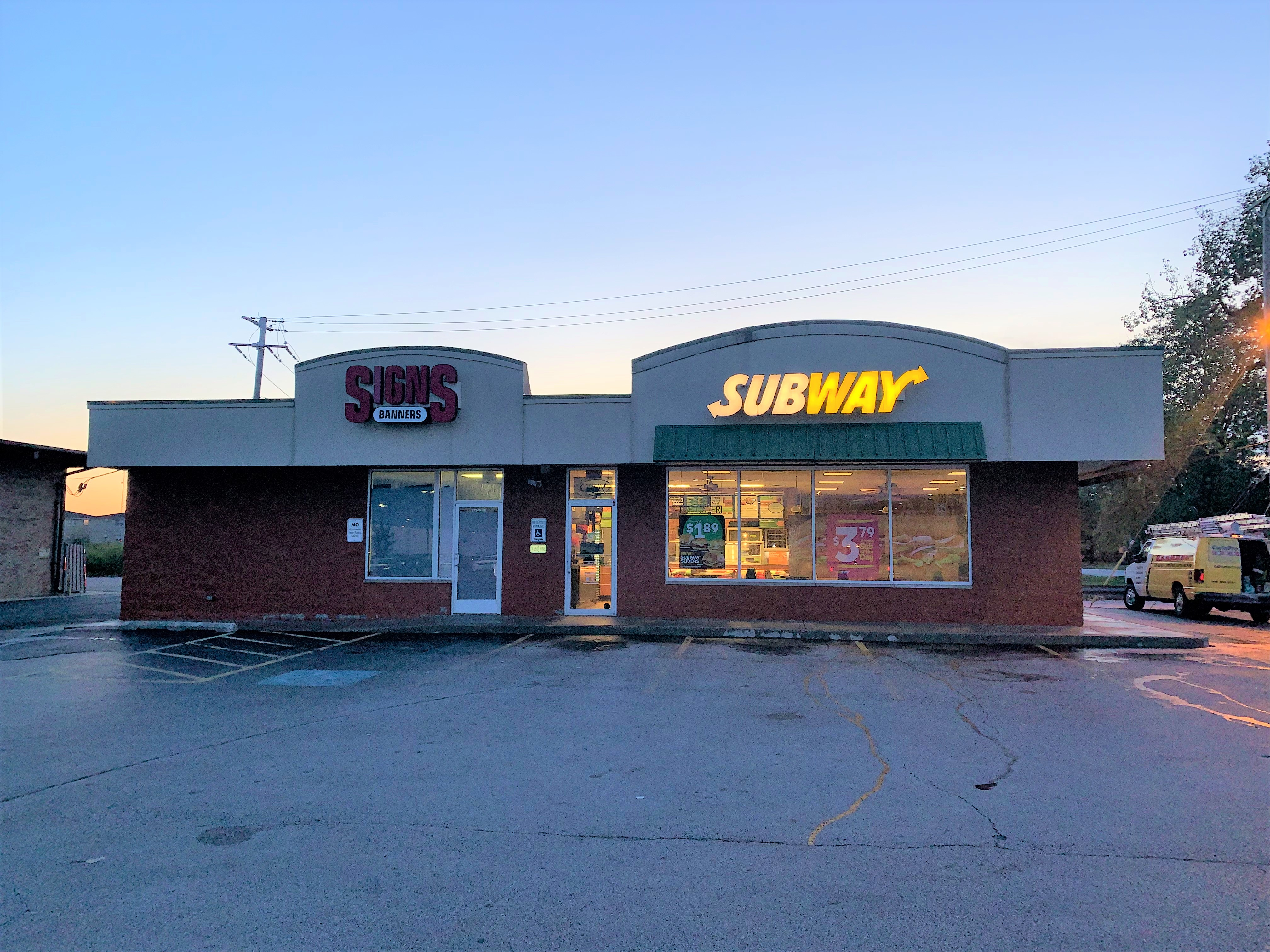 Subway – Exterior Before