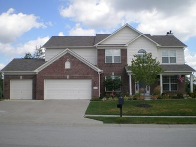 Exterior painting in Fishers, IN by CertaPro Painters.