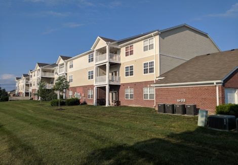Commercial Condo painting by CertaPro Painters of Indianapolis, IN