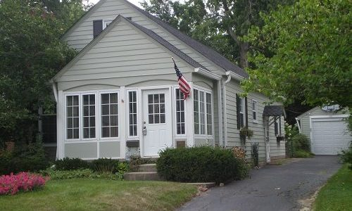 Siding & Trim Exterior Painting Project