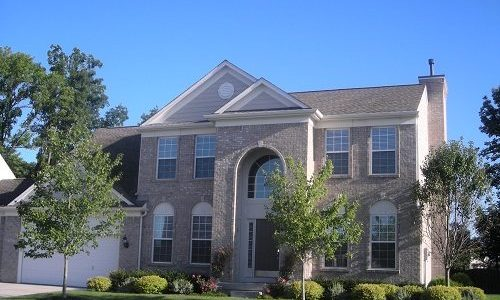 Exterior Painting Brick Home