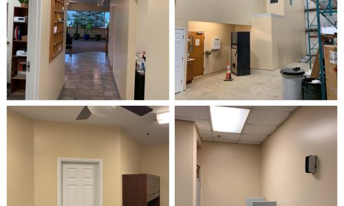 Interior Office and Training Center Painting
