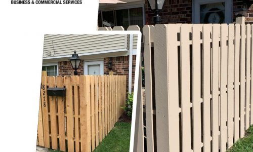 Multi-Family Fencing Before & After