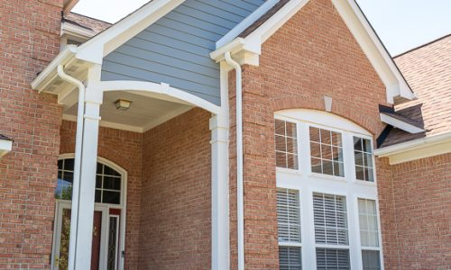 Exterior Trim & Siding Painting Project