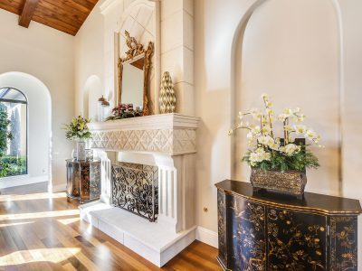 white mantle painting palm beach gardens