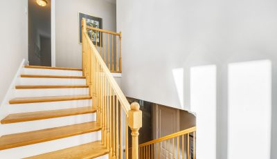 Stairwell painting in Palm Beach Gardens
