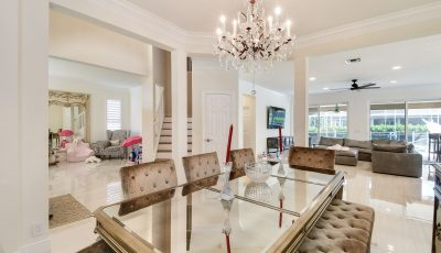 Residential Interior Dining Room Painting