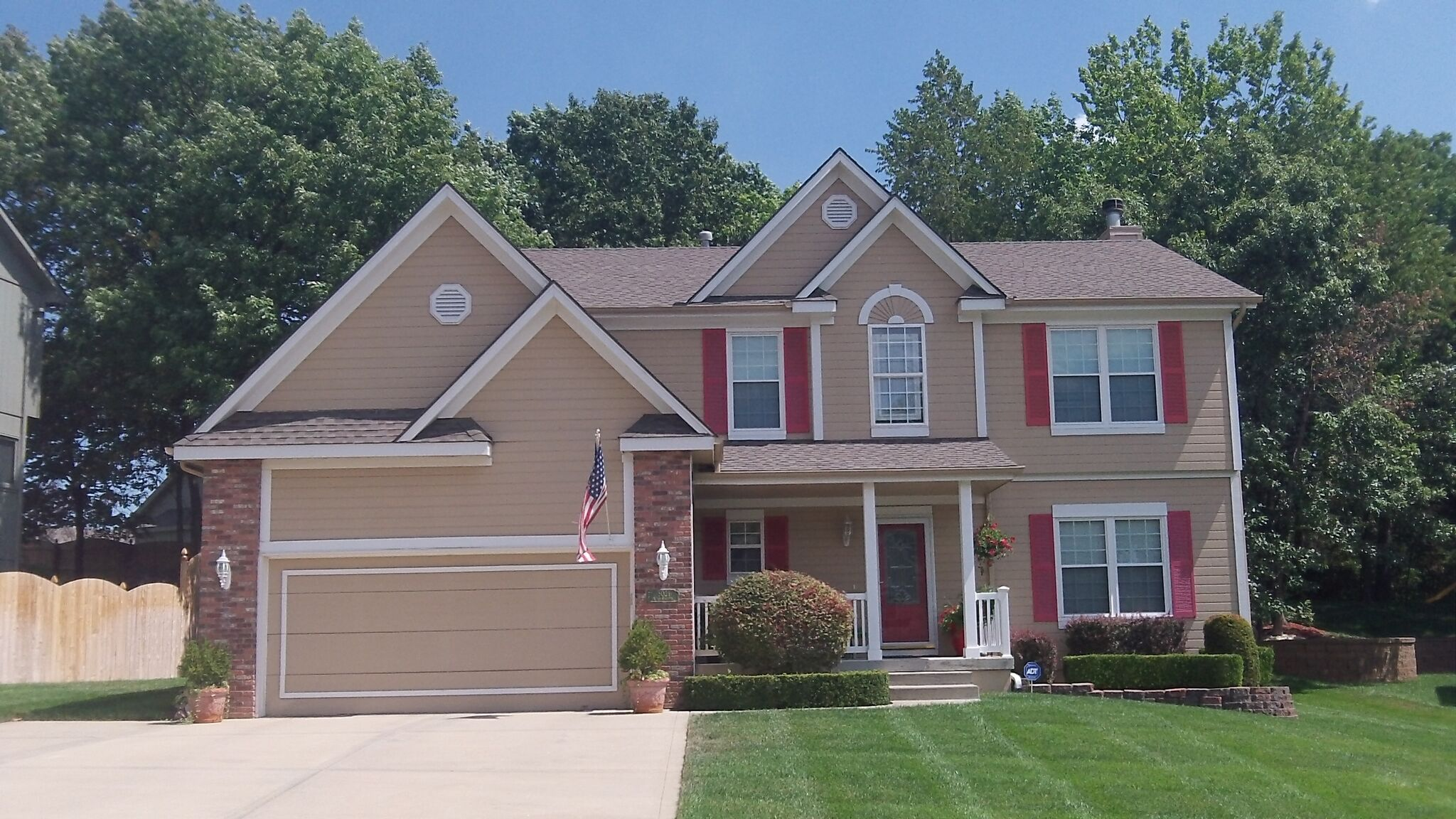 House painting by CertaPro house painters in Kansas City Northland