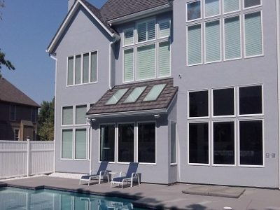 Exterior painting by CertaPro house painters in Kansas City Northland