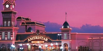 Exterior of Ameristar Casino Resort Spa painted by the professionals at CertaPro Painters of KC Northland, MO