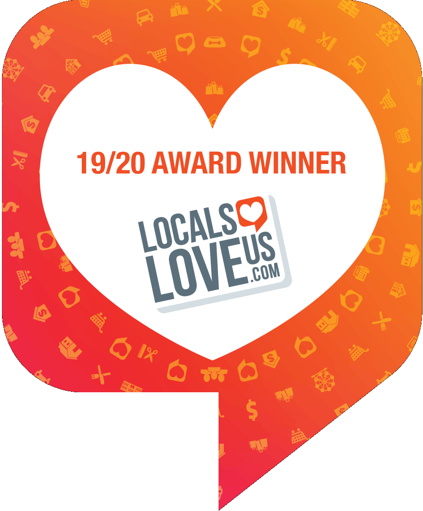 local loves award badge