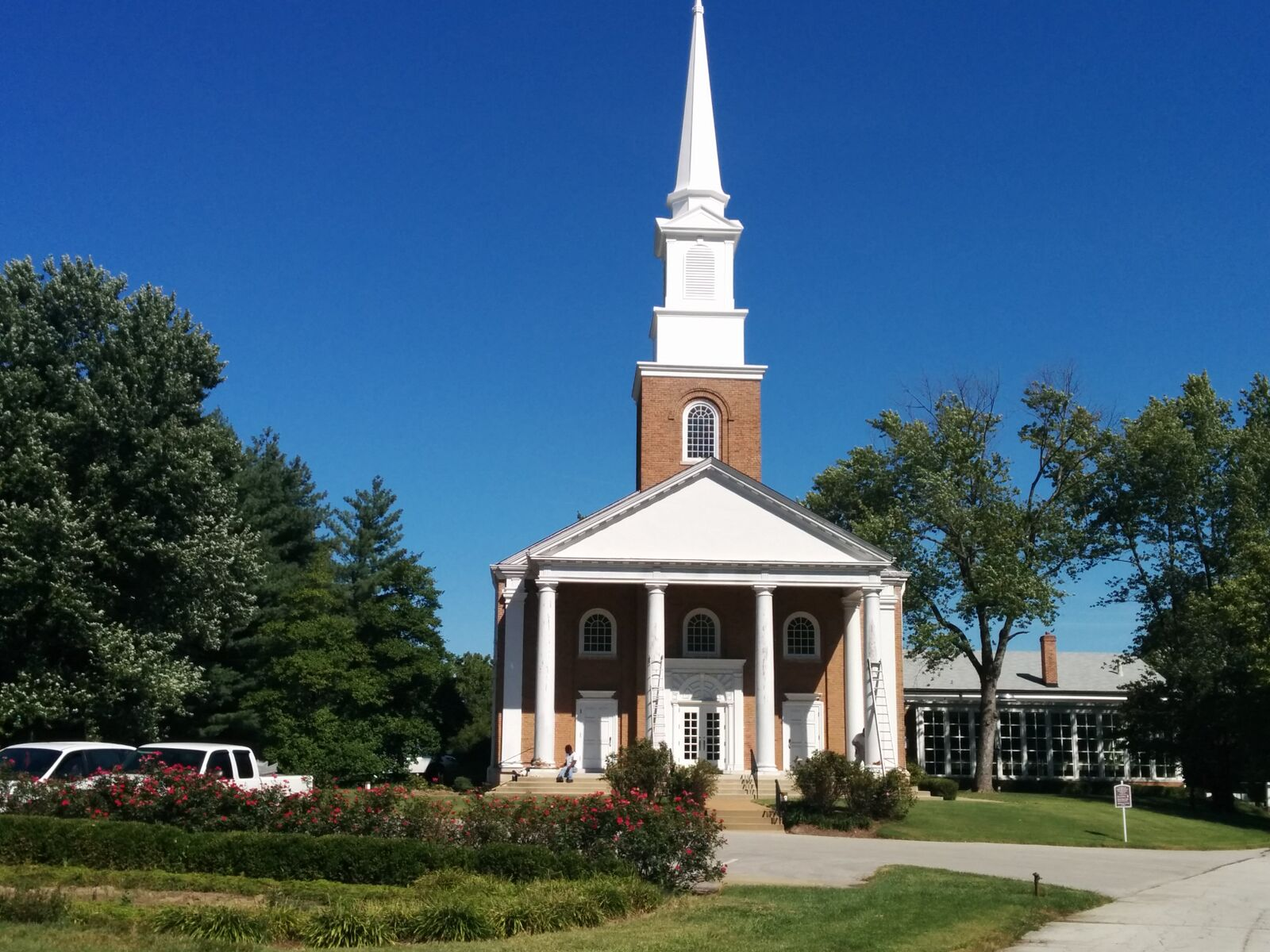 Commercial Faith-based Facility painting by CertaPro painters in Des Peres, MO